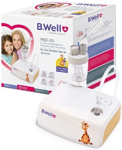 Купить Ингалятор b well med-125 компрессорный цена