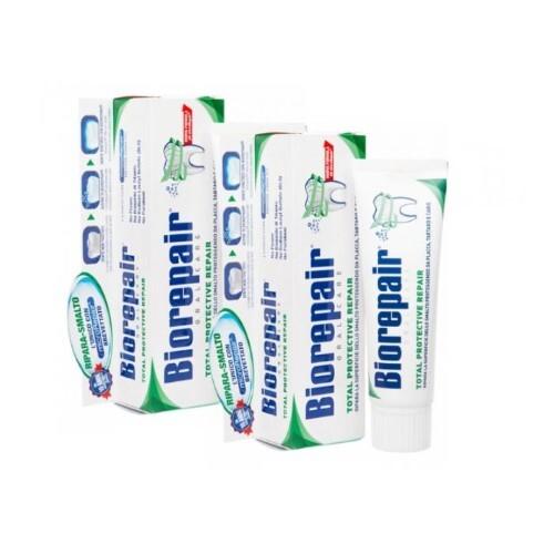 Купить Набор biorepair зубная паста комплексная защита д/полости рта 75мл из 2-х уп по специальной цене цена