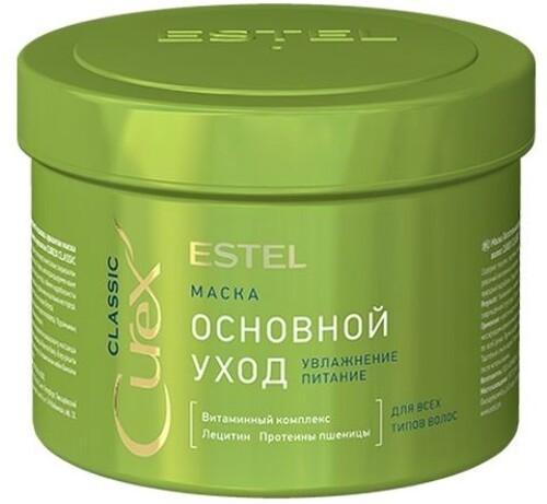 Curex classic основной уход маска для всех типов волос 500мл