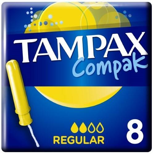 Купить Тампоны compak regular с аппликатором n8 цена