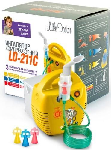 Купить Ингалятор ld-211c компрессорный цена