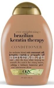 Купить Разглаживающий кондиционер для укрепления волос бразильский кератин 385мл цена