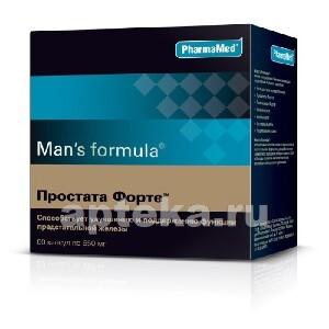 Купить Мен-с формула простата форте цена