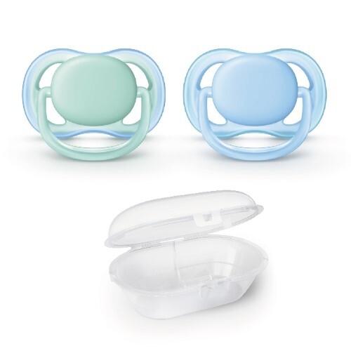 Купить Avent пустышка силиконовая ultra air для мальчиков 0-6мес n2 scf244/20 цена