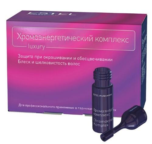 Купить Professional хромоэнергетический комплекс для волос 5мл n10 цена