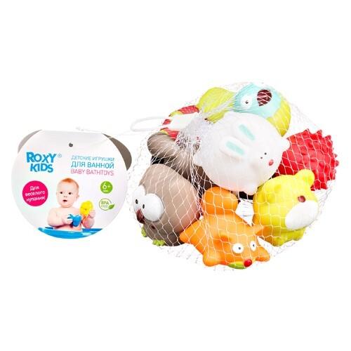 Набор игрушек для ванной лесные жители 6+ n9