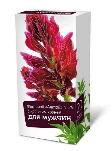 Купить Фиточай алтай n26 с красн корнем д/муж цена