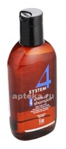 Купить Шампунь терапевтический 4 для жирных волос чувствительной и раздраженной кожи головы 100мл цена