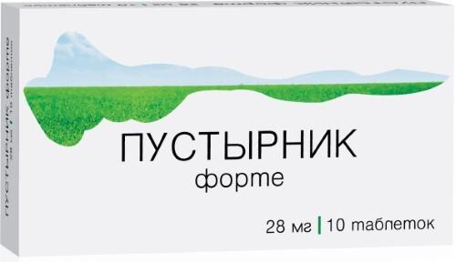 Купить ПУСТЫРНИК ФОРТЕ 0,028 N10 ТАБЛ/ОЗОН/ цена