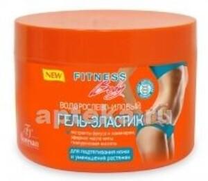 Купить Фитнес body водорослево-иловый гель-эластик для подтягивания кожи и уменьшения растяжек 500мл цена