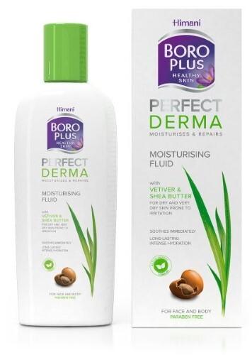 Купить Боро плюс perfect derma увлажняющий флюид для лица и тела 200мл цена