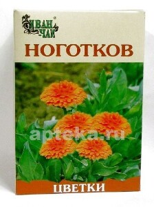 Купить Ноготков цветки 50,0/иван-чай цена