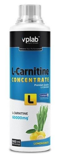 Купить Вплаб l-карнитин концентрат со вкусом лемонграсса цена