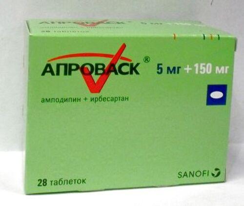 Купить АПРОВАСК 0,005+0,15 N28 ТАБЛ П/ПЛЕН/ОБОЛОЧ цена