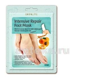 Купить Интенсивно-восстанавливающая маска-носки для ног абрикос/1пара цена