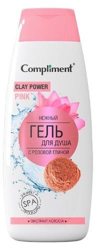 Купить Гель для душа нежный с розовой глиной 400мл цена