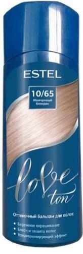 Купить Love ton оттеночный бальзам для волос тон 10/65 жемчужный блондин 150мл цена