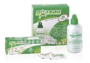 Купить При аллергии специальное устройство для промывания носа+минерально-растительное средство 30пак цена
