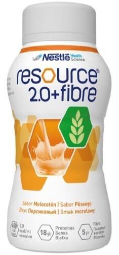 Купить 2,0+fibre смесь 200мл /персик/ цена