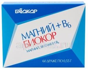 Купить Магний+в6 биокор цена