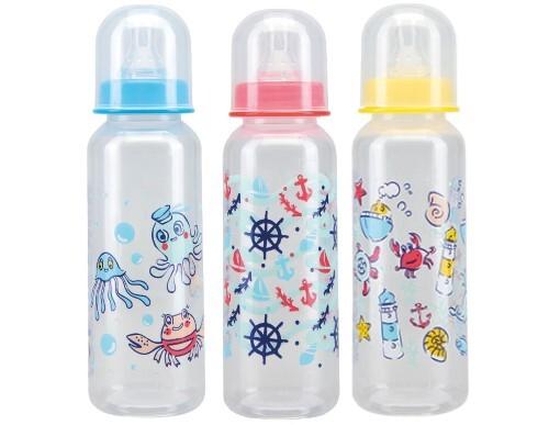 Купить Бутылочка полипропиленовая с силиконовой соской 0+ 250мл /11004 цена