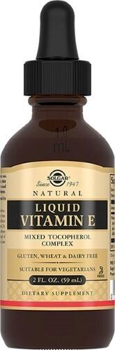Купить Солгар витамин е жидкий 59,0мл цена