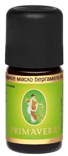 Купить Масло эфирное бергамота био 5мл/примавера лайф цена