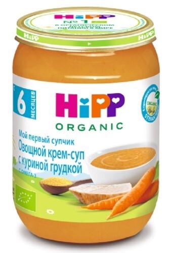 Консервы растительно-мясные овощной крем-суп с куриной грудкой 190,0