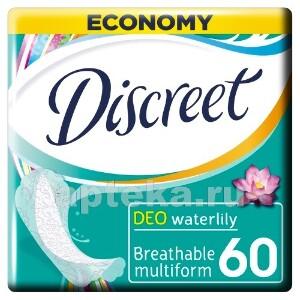 Купить Deo multiform водяная лилия ежедневные гигиенические прокладки n60 цена