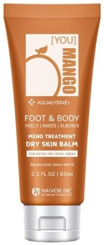 Купить Крем-бальзам восстанавливающий с аквализином для сухой кожи ног и сверхсухих участков тела: пяток локтей коленей 65мл цена