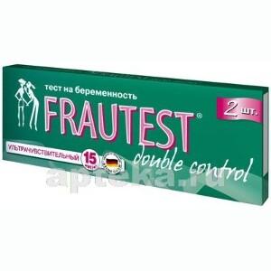Тест для определения беременности frautest double control n2