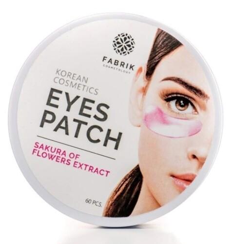 Купить Eyes patch sakura flowers extract патчи для области вокруг глаз с экстрактом цветов сакуры n60 цена