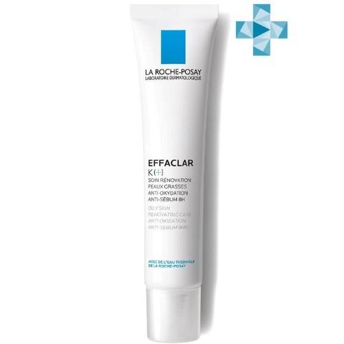 Купить Effaclar к(+) корректирующая эмульсия для жирной кожи 40мл цена