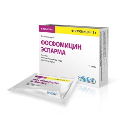 Купить Фосфомицин эспарма цена