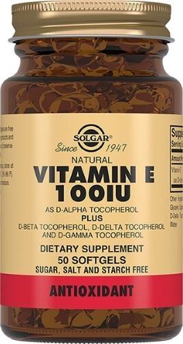 Купить Солгар витамин е 100ме n50 капс цена