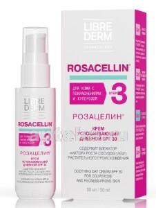 Купить Rosacellin крем успокаивающий дневной spf 30 50мл цена