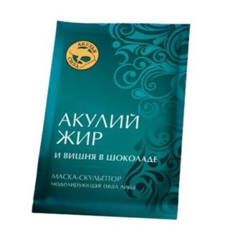 Купить Акулья сила вишня в шоколаде маска-скульптор моделирующая овал лица 10мл n3 цена