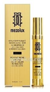 Mezolux биоармирующий антивозрастной ночной крем для лица, шеи и области декольте 30мл