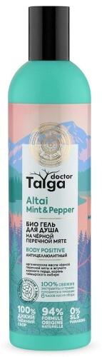 Купить Doctor taiga гель для душа био антицеллюлитный 400мл цена