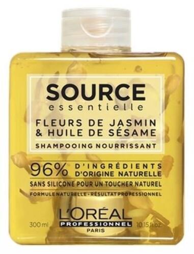 Source essentielle loreal professionnel source essentialle nourishing шампунь для питания сухих поврежденных волос 300мл