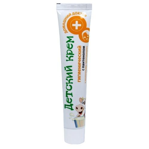 Купить Детский крем гигиенический с пантенолом и молочными протеинами 42мл цена