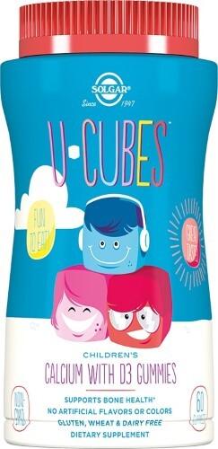 Купить Ю-кьюбс с кальцием и витамином d3 мармеладки детские цена