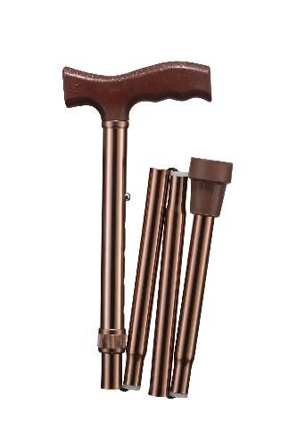 Купить Трость wr-412 классическая складная /бронза цена