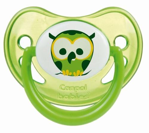 Купить Соска-пустышка силиконовая night dreams 6-18мес зеленый цена