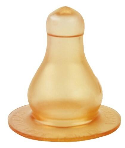 Купить Соска латексная большого размера со средним отверстием средний поток 6+ n1/12132 цена
