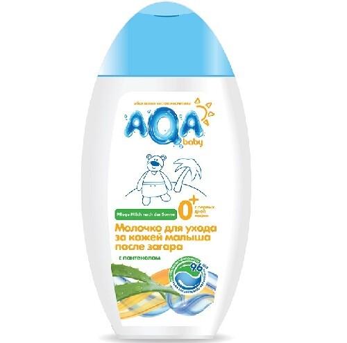 Молочко для ухода за кожей малыша после загара 250мл