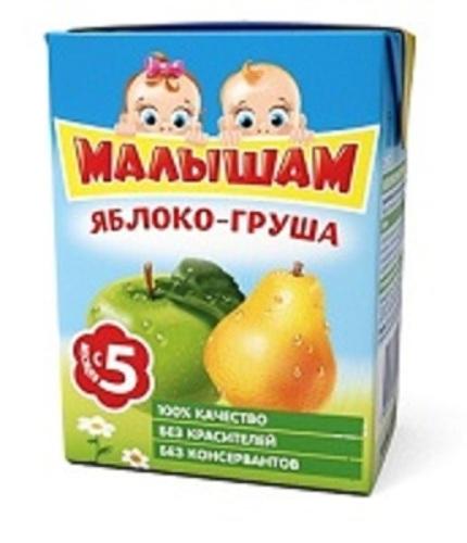 Купить Нектар из яблок и груш неосветленный 200мл цена
