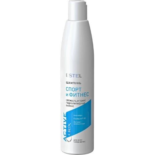 Купить Curex active шампунь для всех типов волос спорт и фитнес 300мл цена