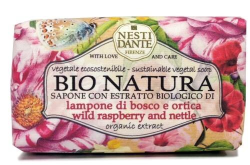 Купить Bio natura мыло малина и крапива 250,0 цена