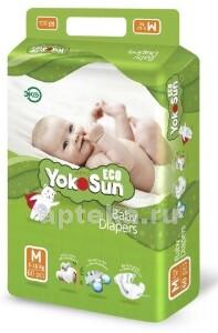 Купить Eco подгузники детские размер m /5-10кг/ n60 цена